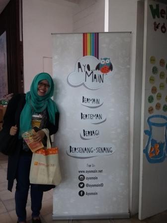 Kak Irma di Temu Pendidik Nusantara
