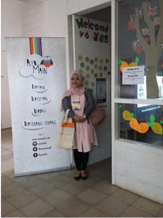 Kak Winni pada Temu Pendidik Nusantara 2016 di Sekolah Cikal Cilandak