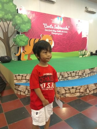 Ken dan Festival Dongeng Internasional Indonesia